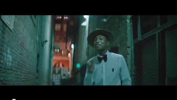 [WATCH] Pharrell Shoots World's First 24 Hour Music Video, 'Happy'