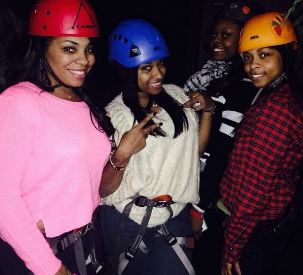 reginae birthday party-zipline-the jasmine brand