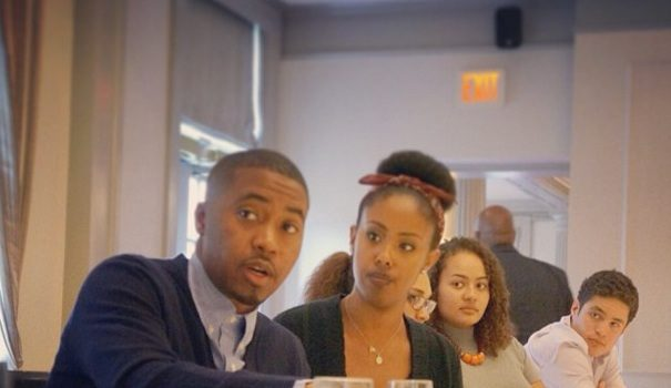 [Photos] Nas Schools Harvard University Students, Introduces Hip Hop Fellowship