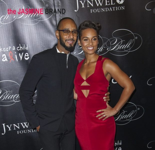 [Photos] Alicia Keys Celebrates 'Keep A Child Alive Ball' With Swizz Beatz, Pharrell, Maxwell & Celeb Friends