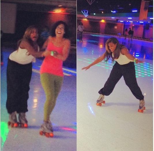 tameka raymond-roller skating-the jasmine brand
