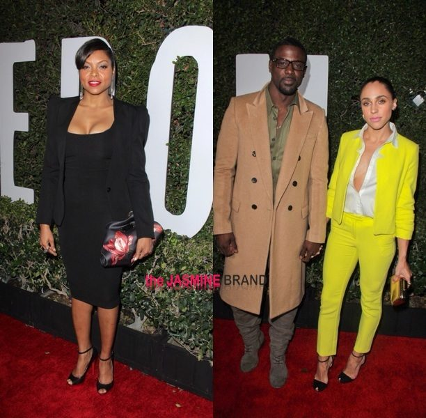 Taraji P. Henson, Lance Gross & Angela Bassett Step Out For Idris Elba's 'Mandela' Premiere