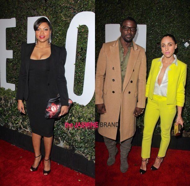 Taraji P. Henson, Lance Gross & Angela Bassett Step Out For Idris Elba's 'Mandela' Premiere