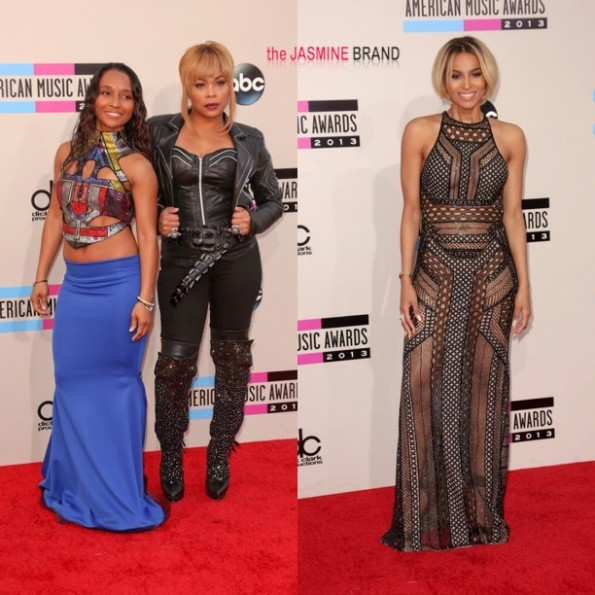 tlc chilli-t boz-ciara-AMAs-american music awards 2013-the jasmine brand