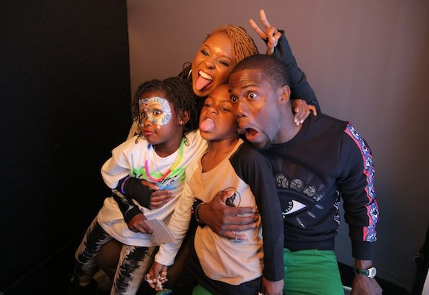 [Photos] Co-Parenting Coolness: Torrei & Kevin Hart Throw 6th Birthday Party For Son