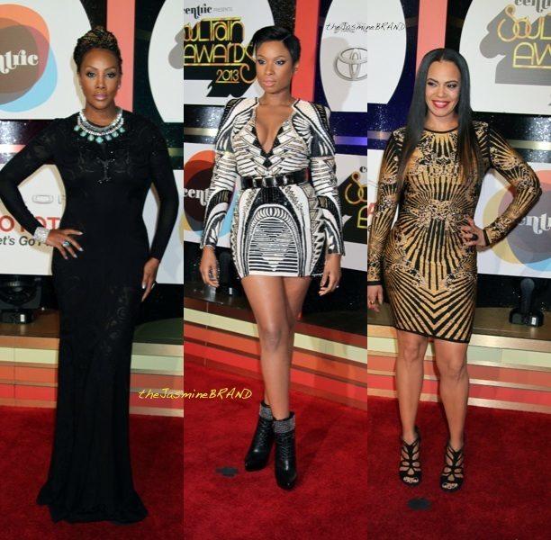 [Photos] Soul Train Awards Red Carpet Rundown: Toni Braxton, Jennifer Hudson, Faith Evans, Ashanti & More
