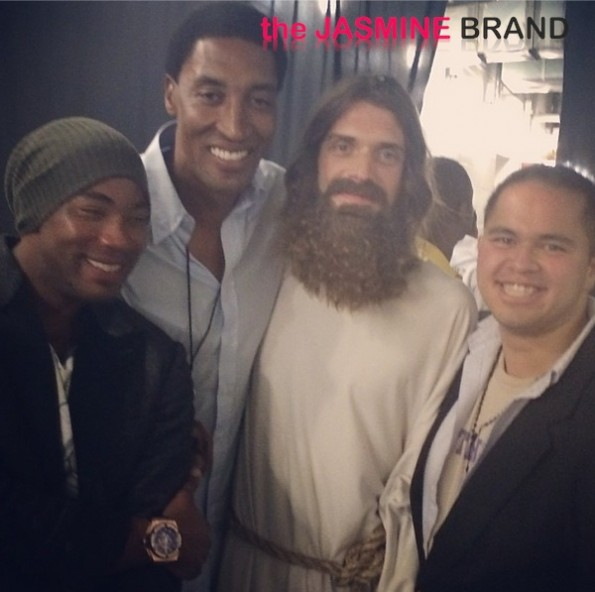 white jesus-scottie pippen-kanye west yeezus tour-miami-the jasmine brand