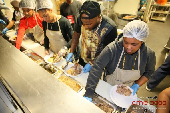young jeezy-No Reservations Needed Food Drive-Atlanta Mission 2013-the jasmine brand