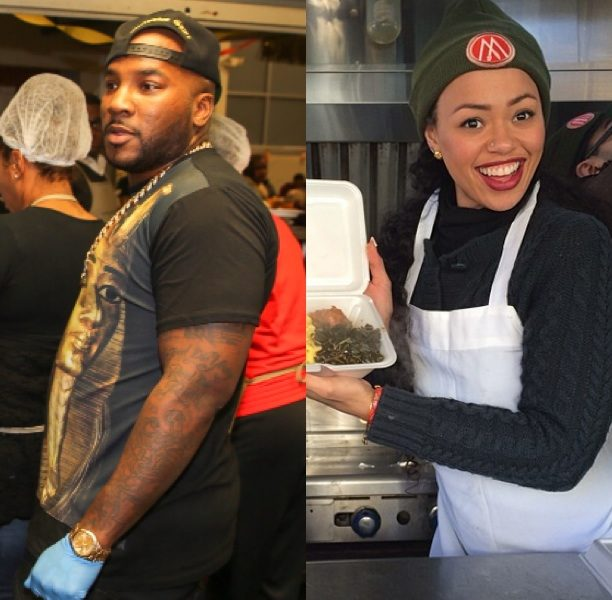 Service With A Smile: Elle Varner, Young Jeezy, Kandi Burrus & More Celebs Feed the Needy