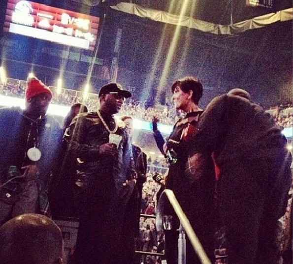young jeezy-kris jenner-kanye west yeezus tour-nyc-the jasmine brand