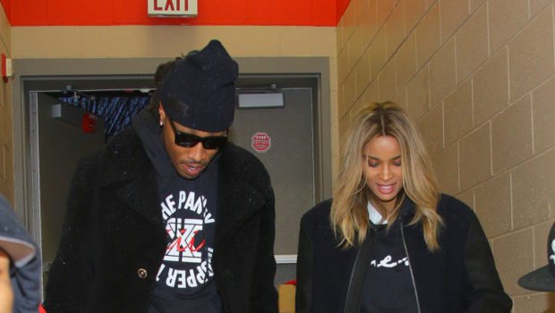 Ovary Hustlin': Future & Ciara Host Toy Drive For Underprivileged Atlanta Kids + Is CiCi Hiding A Bump?