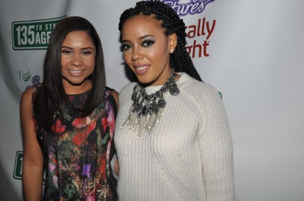 Angela Yee - Angela Simmons on the carpet