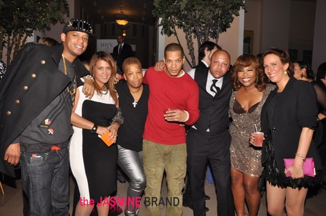 Chef Roble, Kim Osorio, Rowena Husbands, Peter Gunz, Kino, Mona Scott-Young and guest-the jasmine brand
