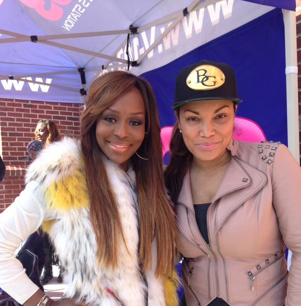 Radio Personality Egypt Sherrod Leaves V-103 + Gives Back With Reality Stars Nicci Gilbert, Quad Webb-Lunceford & Q-Parker