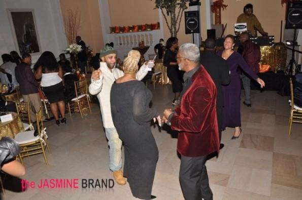 Joe Budden dances with mother-the jasmine brand