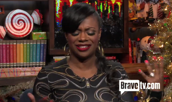 [VIDEO] RHOA's Kandi Burruss Bursts Out in Tears During TV Interview, Says Mama Joyce Stopped Speaking to Her
