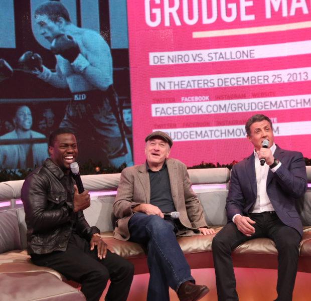 Kevin Hart, Ashanti, B.O.B., Robert Deniro & Sylvester Stallone Take Over BET's 106 & Park