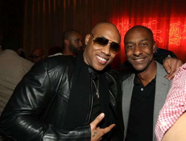 Mario Winans and Stephen Hill-sevyn streeter listening party-the jasmine brand