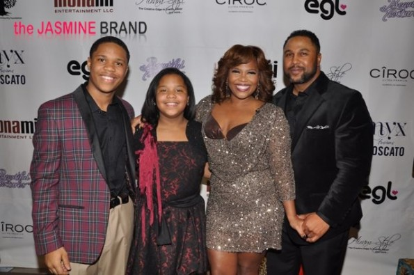 Mona Scott-Young, Shawn Young and family-the jasmine brand
