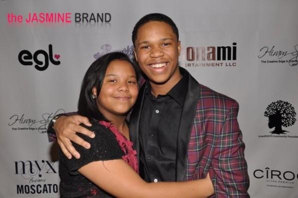 Mona Scott-Young's daughter Jordan and son Justin-the jasmine brand