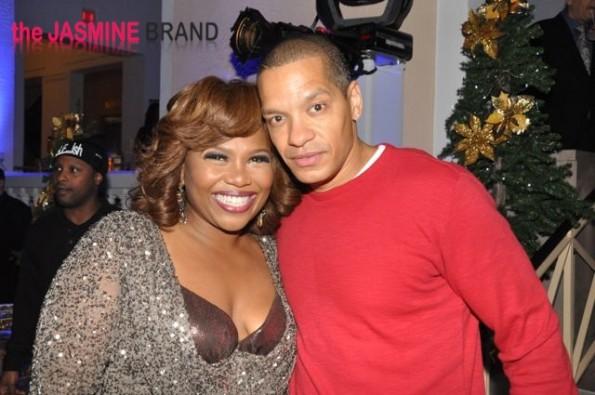 Mona with Peter Gunz-the jasmine brand