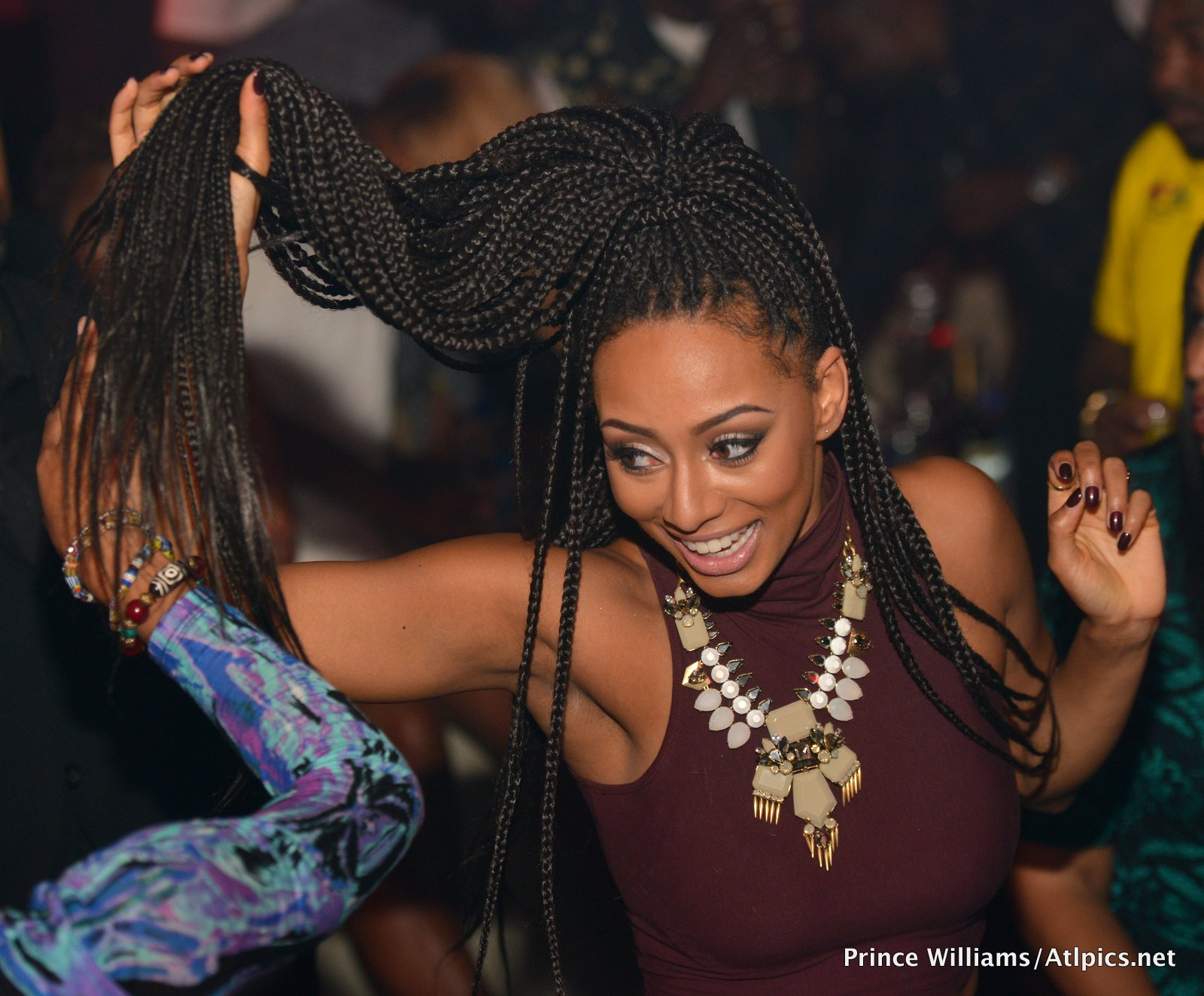 Leather & Fur, Please! Keri Hilson Celebrates 31st B-Day ...