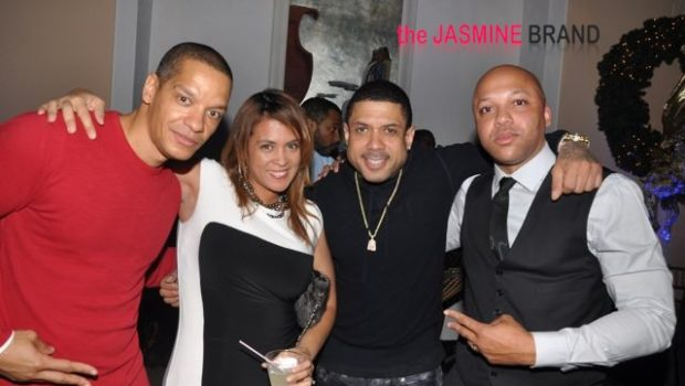 [Photos] Yandy Smith, Peter Gunz & More Reality Stars Spotted at Mona Scott-Young's Holiday Party