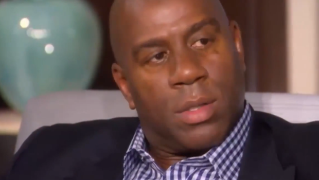 [VIDEO] Magic Johnson Recounts Having Sex With Countless Women: 'I didn't have people sleep over. I never disrespected women.'
