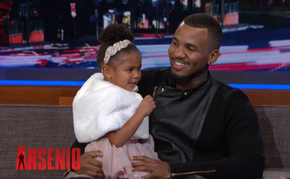 The-Game-Daughter-Cali-Appear-On-The-Arsenio-Hall-Show-The Jasmine Brand