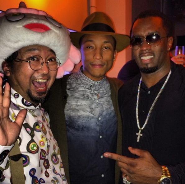 Pharrell-Diddy-The Jasmine Brand
