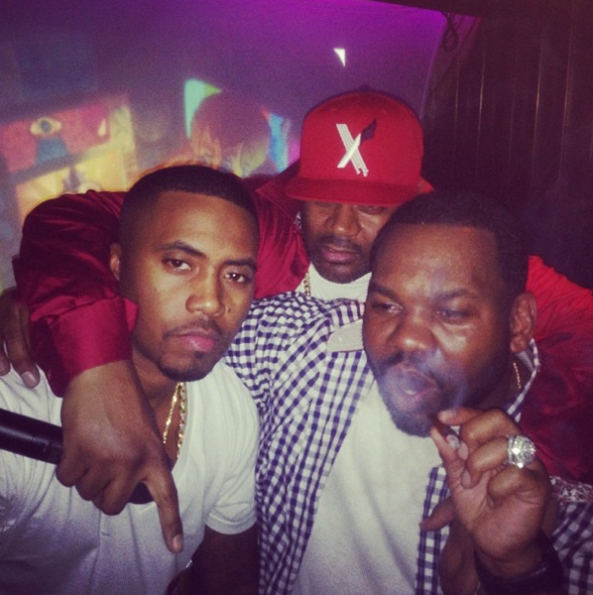 Nas-Ghostface-Raekwon-Art Basel-Miami-2013-The Jasmine Brand