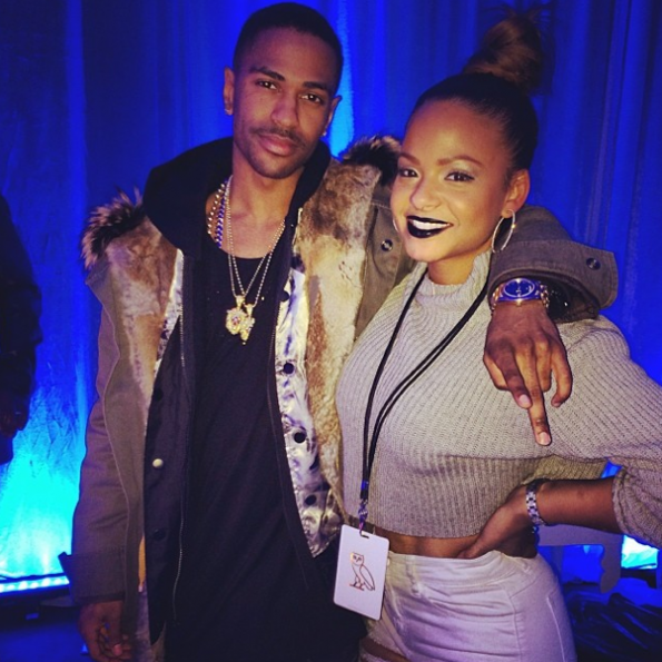 Christina-Milian-With-Big-sean--In-Philadelphia-The Jasmine Brand
