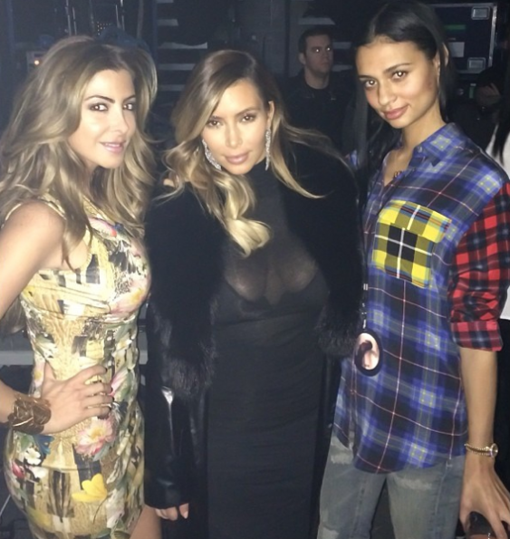 Kim-Kardashian-Larsa-Pippin-Hang-Out-In-Chicago-The Jasmine Brand