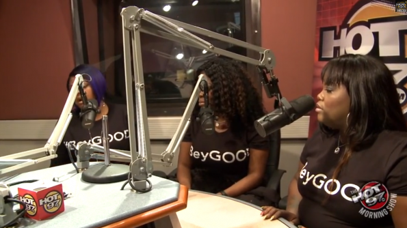 Beyonce-Backup-Singers-The-Mamas-visit-Hot97-The Jasmine Brand