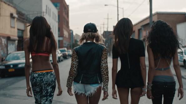 Jourdan-Dunn-Chanel-Iman-Joan-Smalls-Beyonce-Yonce-Video-6-The Jasmine Brand