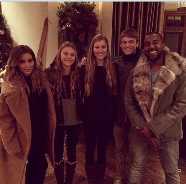 [Photos] Vanessa Bryant, Kanye West & Kim Kardashian Hit the Slopes In Utah