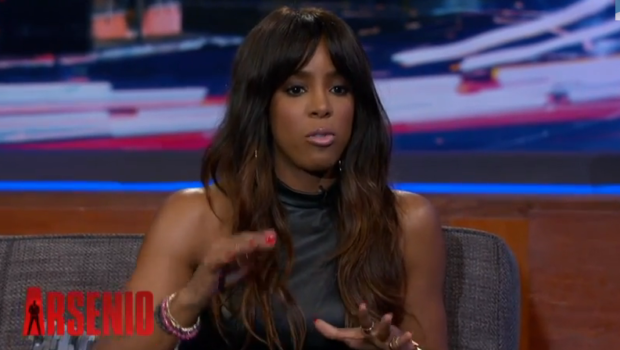 Kelly Rowland Visits Arsenio Hall, Responds to Engagement Reports: 'I believe in Black Love.'