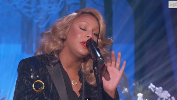 [WATCH] Tamar Braxton Performs 'Silent Night' on the Queen Latifah Show
