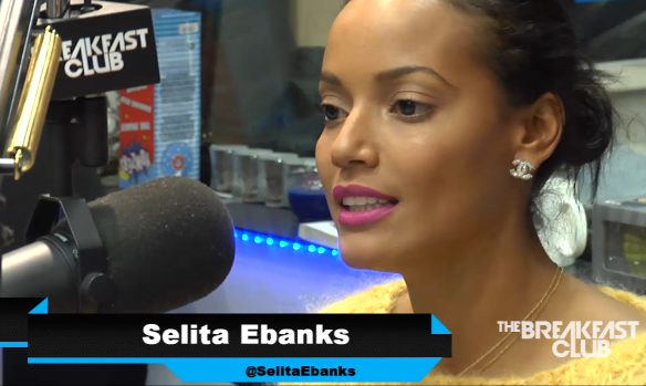 Selita Ebanks on The BReakfast Club