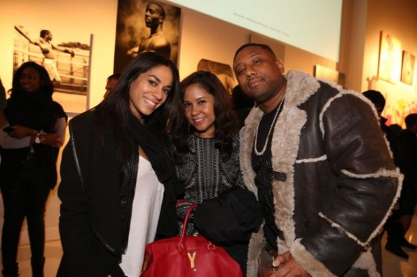 Sharon Carpentor Angela Yee and Maino-ti book of kings-nyc release party 2013-the jasmine brand