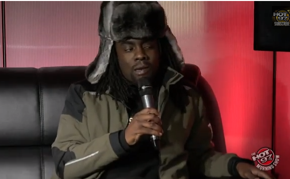 The Jasmine BRand - Wale on Hot 97