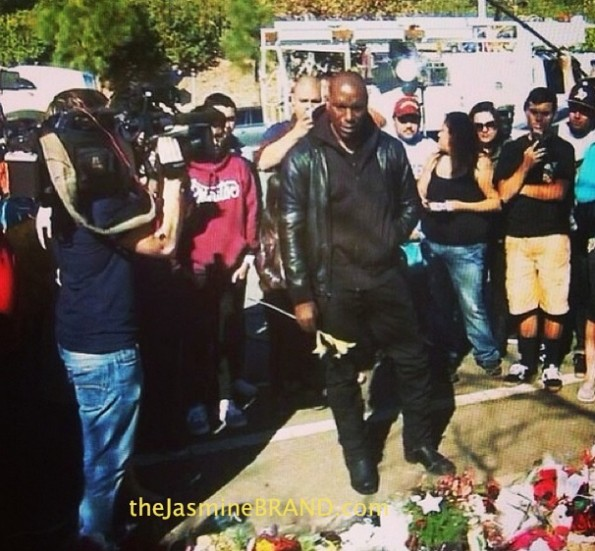 Tyrese-fast and furious 7-mourns death of paul walker-vigil-the jasmine brand