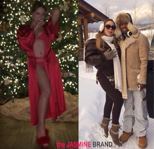 Bikinis & Snowbunnies: Mariah Carey & Nick Cannon Trek to Aspen For Christmas