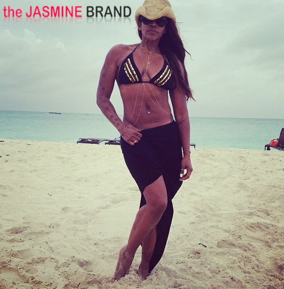 aj johnson-bikini beach 2013-the jasmine brand