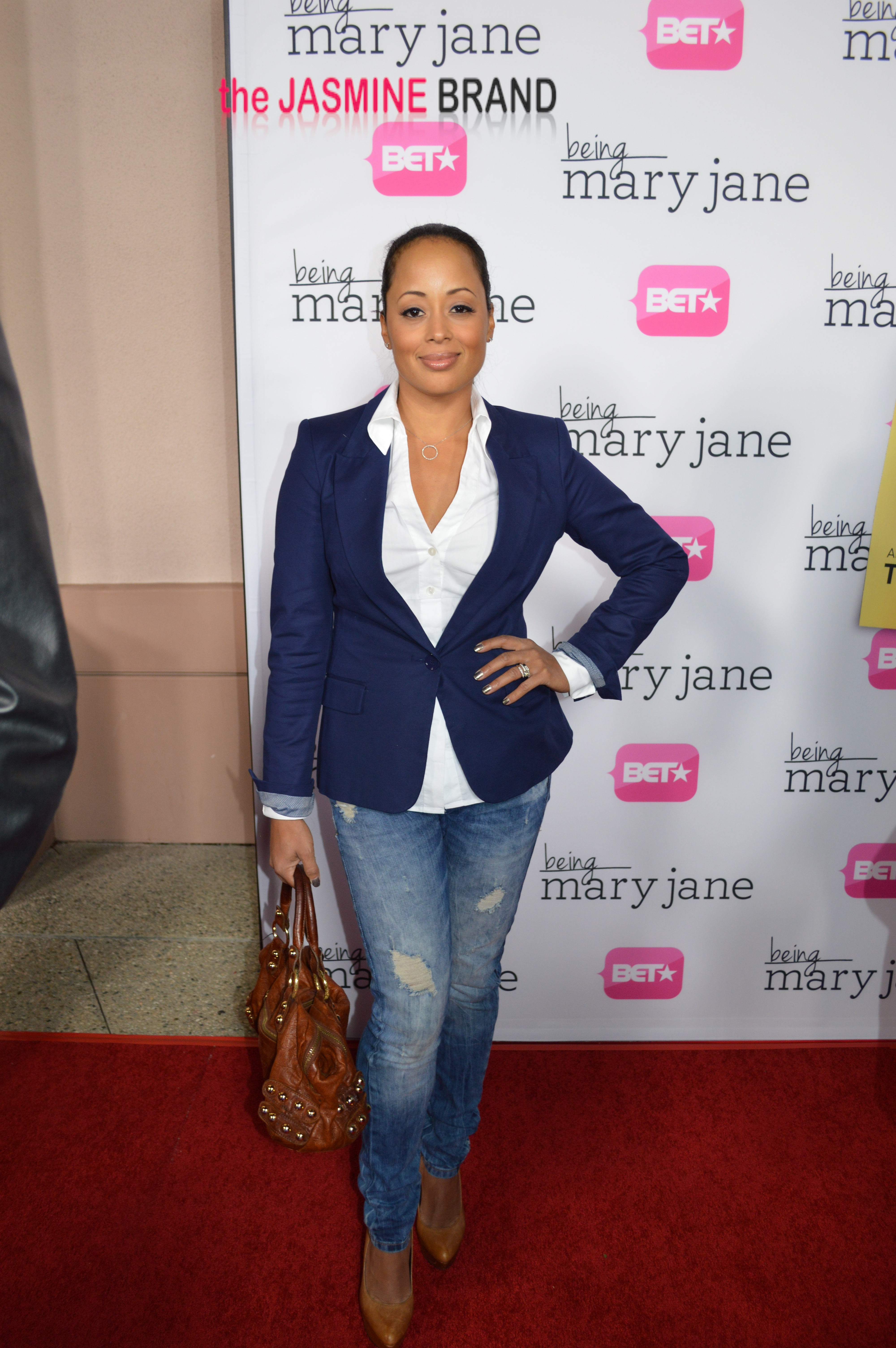 being mary jane premiere-la red carpet-the jasmine brand