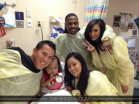 big sean-naya rivera-childrens hospital 2013-a-the jasmine brand