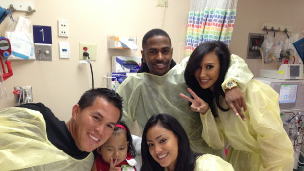 Giving Season Isn't Over: Naya Rivera, Big Sean & Kim Kardashian Visit Children's Hospital