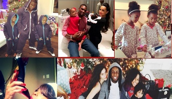 Christmas Behavior: Lil Wayne, Ciara, Diddy & More Celebs Show Off Shiny Gifts & Toys