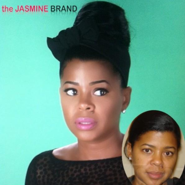 chrissy lampkin-mug shot-bar fight arrest 2013-the jasmine brand
