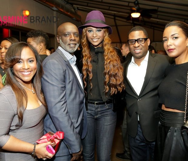 [Photos] Young Jeezy, Joseline & Stevie J + Cynthia Bailey Spotted At Frank Ski's Celeb Wine Tasting Event